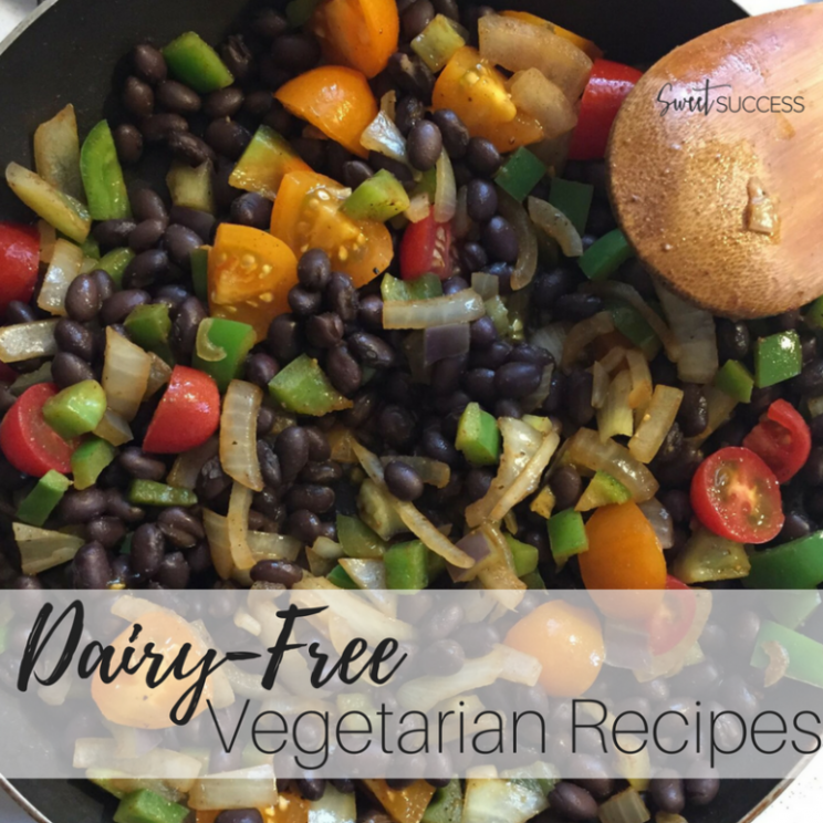 Dairy-Free Vegetarian Dinner Recipes - Sweet Success by Sara - recipes vegetarian dairy free