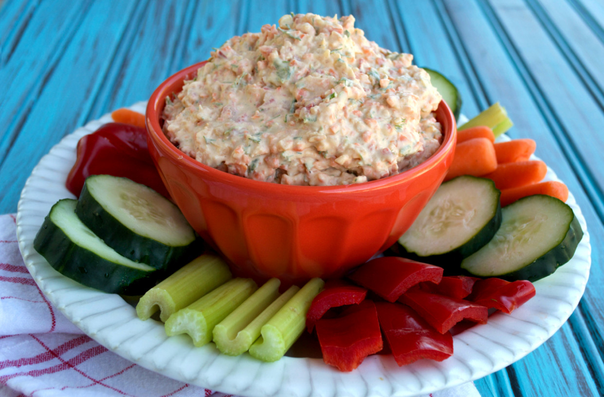 Dairy Free Veggie Dip | Plaid & Paleo - Recipes Veggie Dip