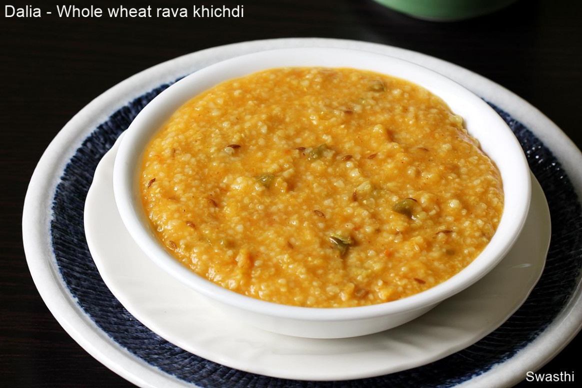 Dalia recipe | Dalia khichdi | Broken wheat khichdi ..