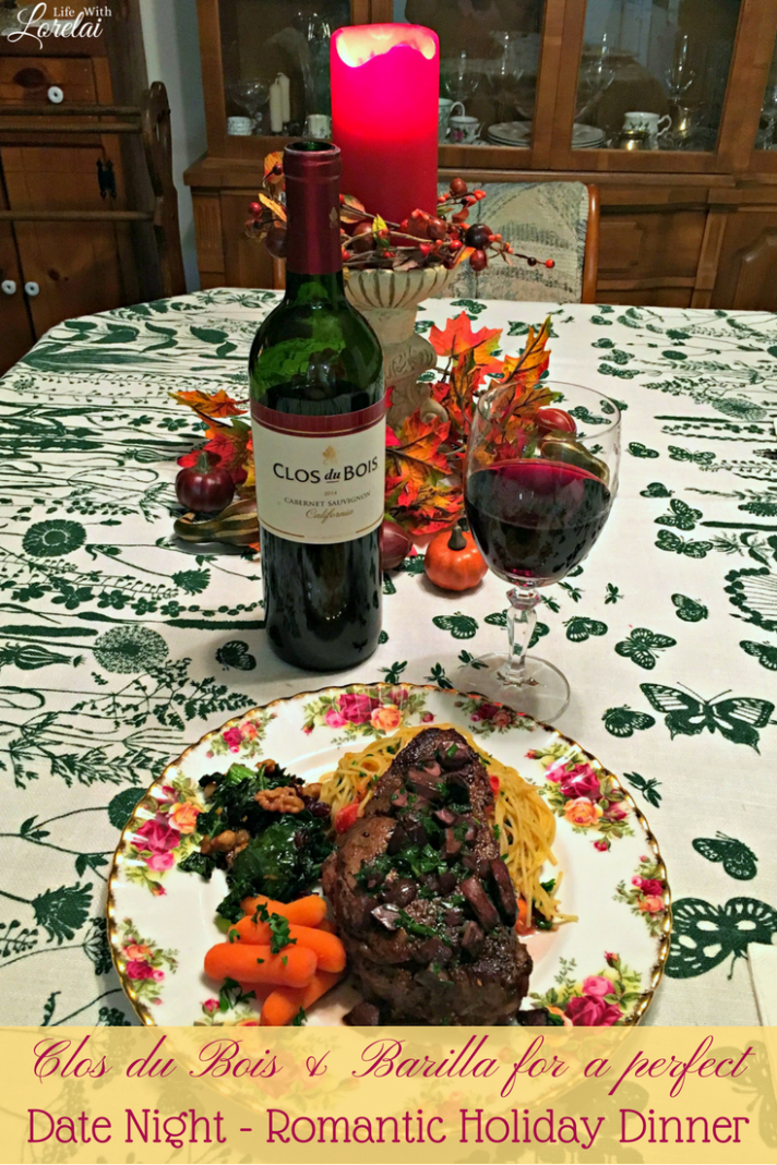 Date Night - A Romantic Holiday Dinner - Recipes - Life With ..