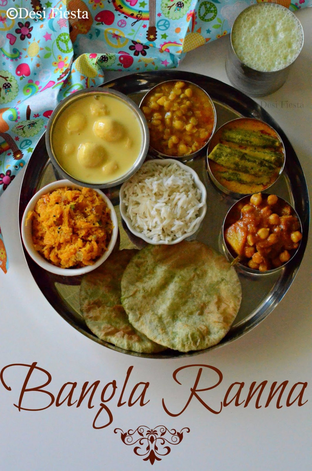 Day 6 ~ Channar Payesh - Bengali Thali | How to Make ..