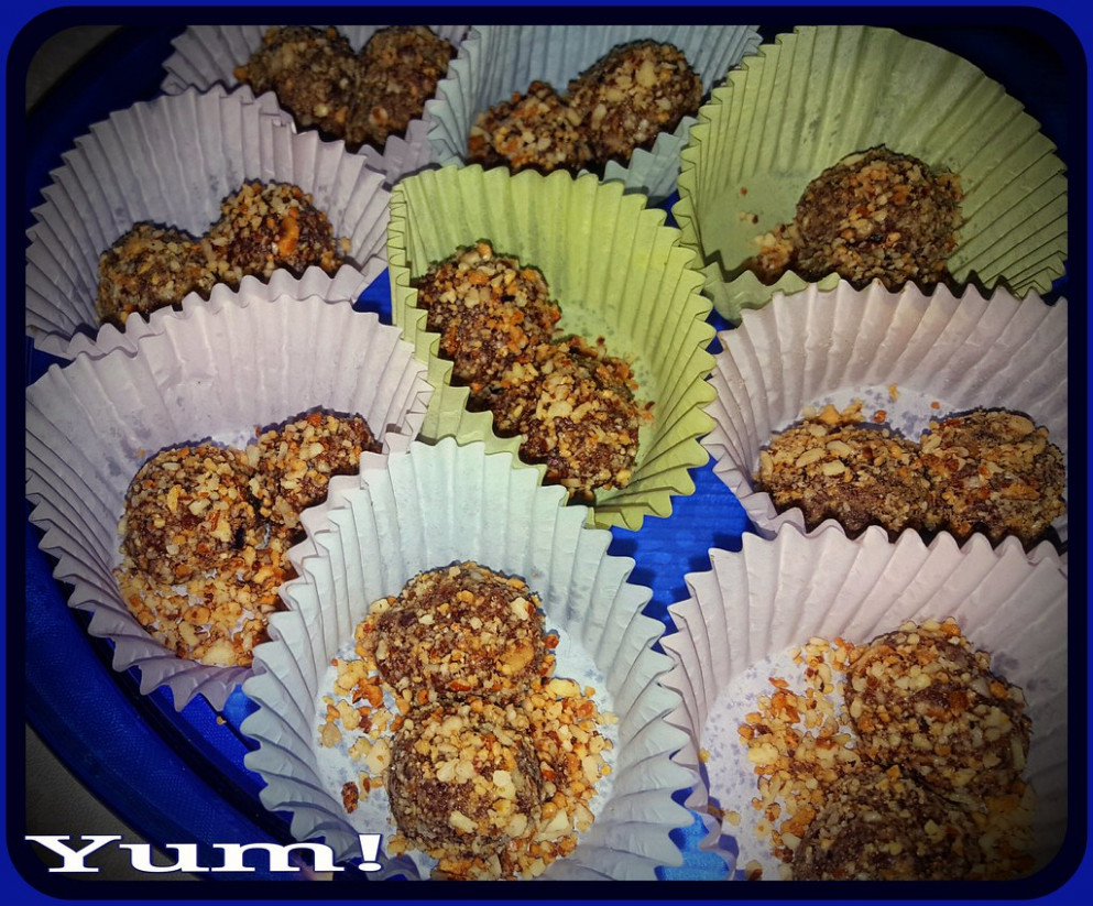 Day 69 of 365 -- Healthier Hazelnut Treats (Recipe below) -- Cellphone Project 2018 - healthy recipes to try