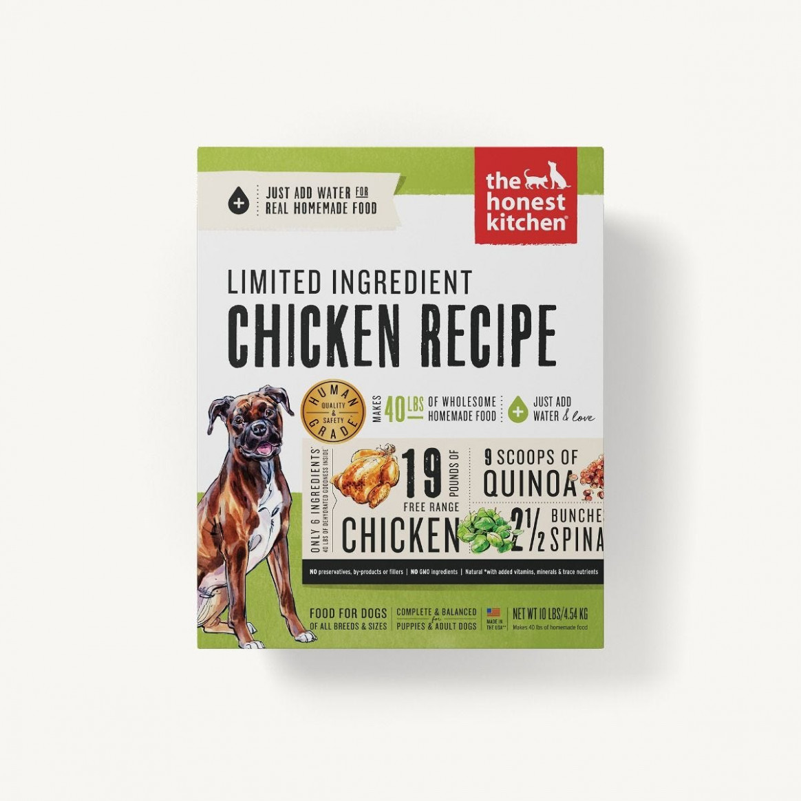 Dehydrated - Limited Ingredient Chicken Recipe (Thrive) - dog food recipes with chicken