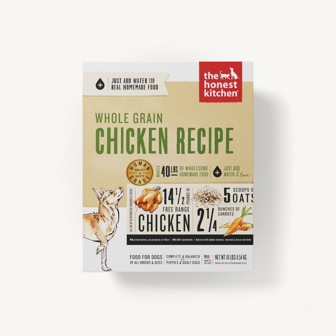 Dehydrated - Whole Grain Chicken Recipe (Revel) - recipes for dog food