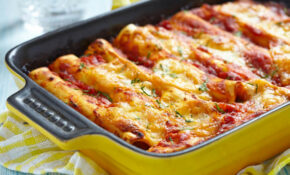Delicious Beef Enchiladas With Spicy Ranchero Sauce