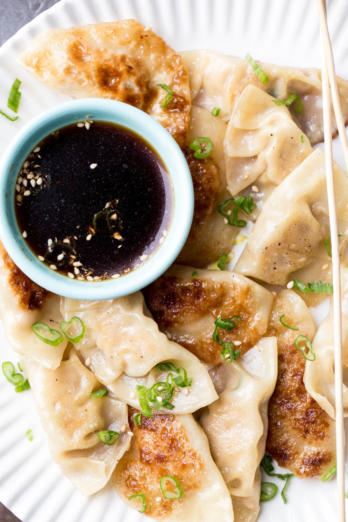Delicious chicken gyoza recipe made with ground chicken and ..