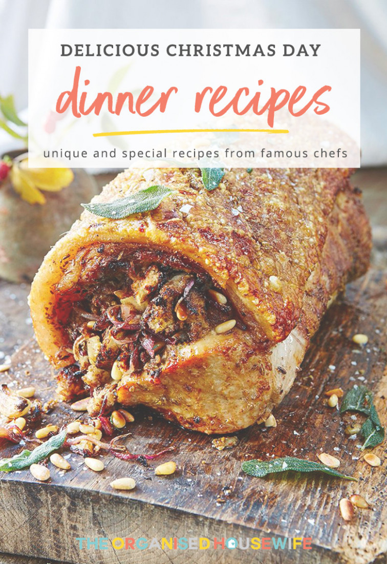 Delicious Dinner Recipes for Christmas Day - The Organised ..