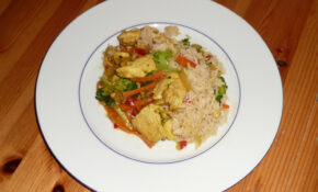 Delicious Food – Hot Chicken With Rice – Recipes Healthy Dinner For Two