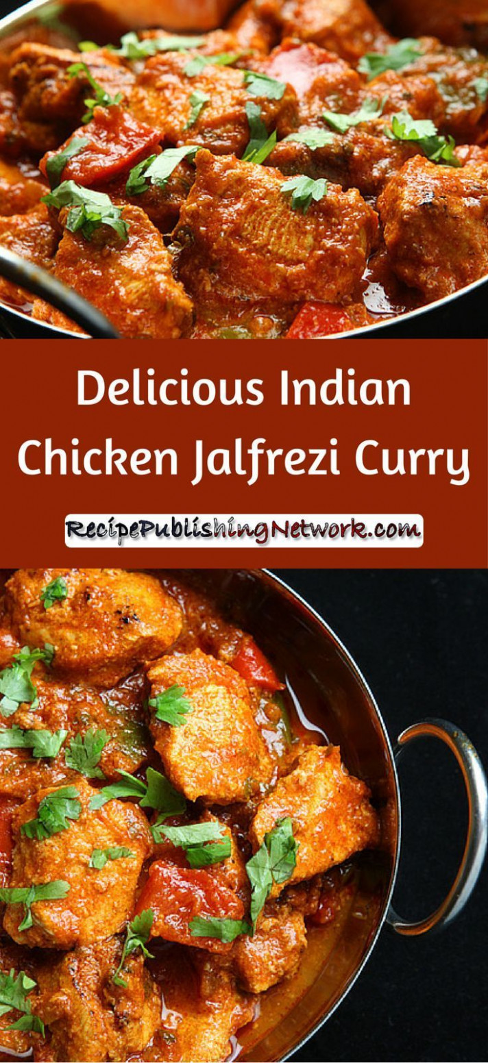Delicious Indian Chicken Jalfrezi Curry | Recipe ..
