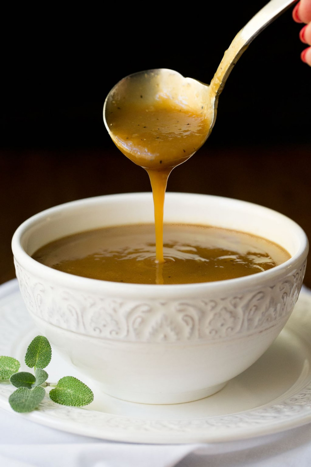 Delicious Make-Ahead Gravy (the real deal!) | The Café Sucre ..