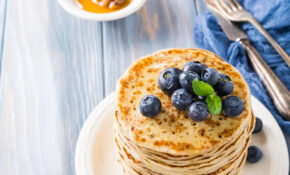 Delicious Pancakes With Fresh Blueberries – Healthy Recipes And Snacks