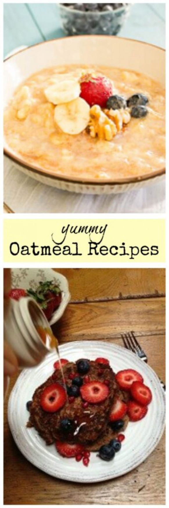 Delicious Recipes Using Oatmeal You Can Make Ahead of Time - healthy recipes you can make ahead of time
