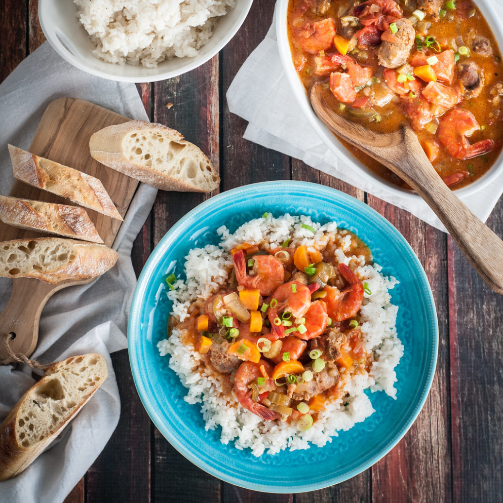 Delicious Shrimp and Sausage Gumbo with a Twist - new orleans food recipes