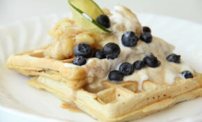 Delicious Vegetarian Waffles