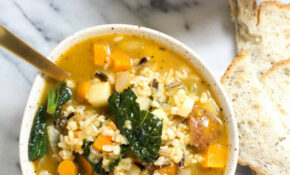 Delicious Winter Vegetable Soup Recipe