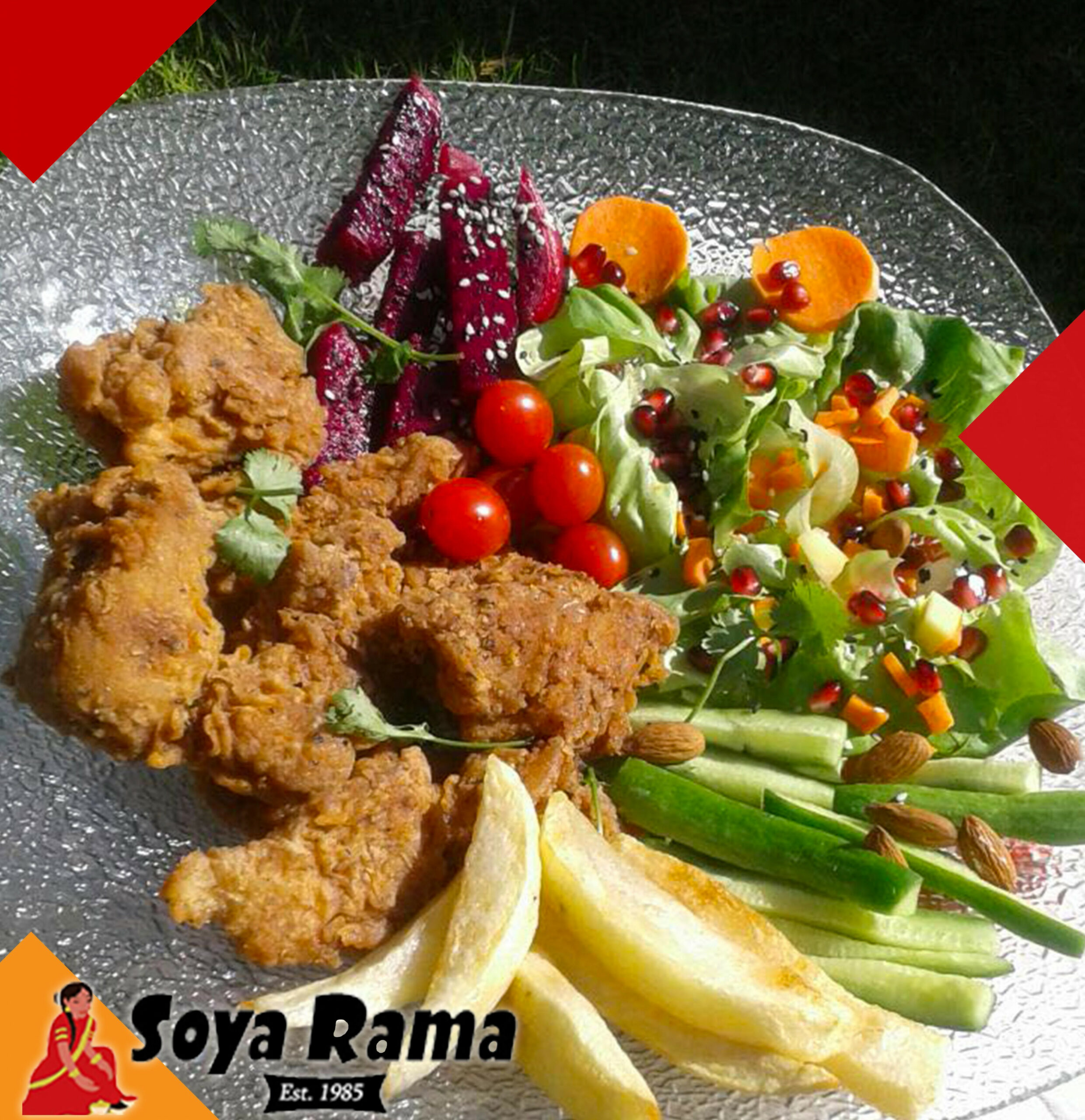 "DELICIOUSNESS!!! Soya Rama Southern Fried ""Chicken"" Recipe .."