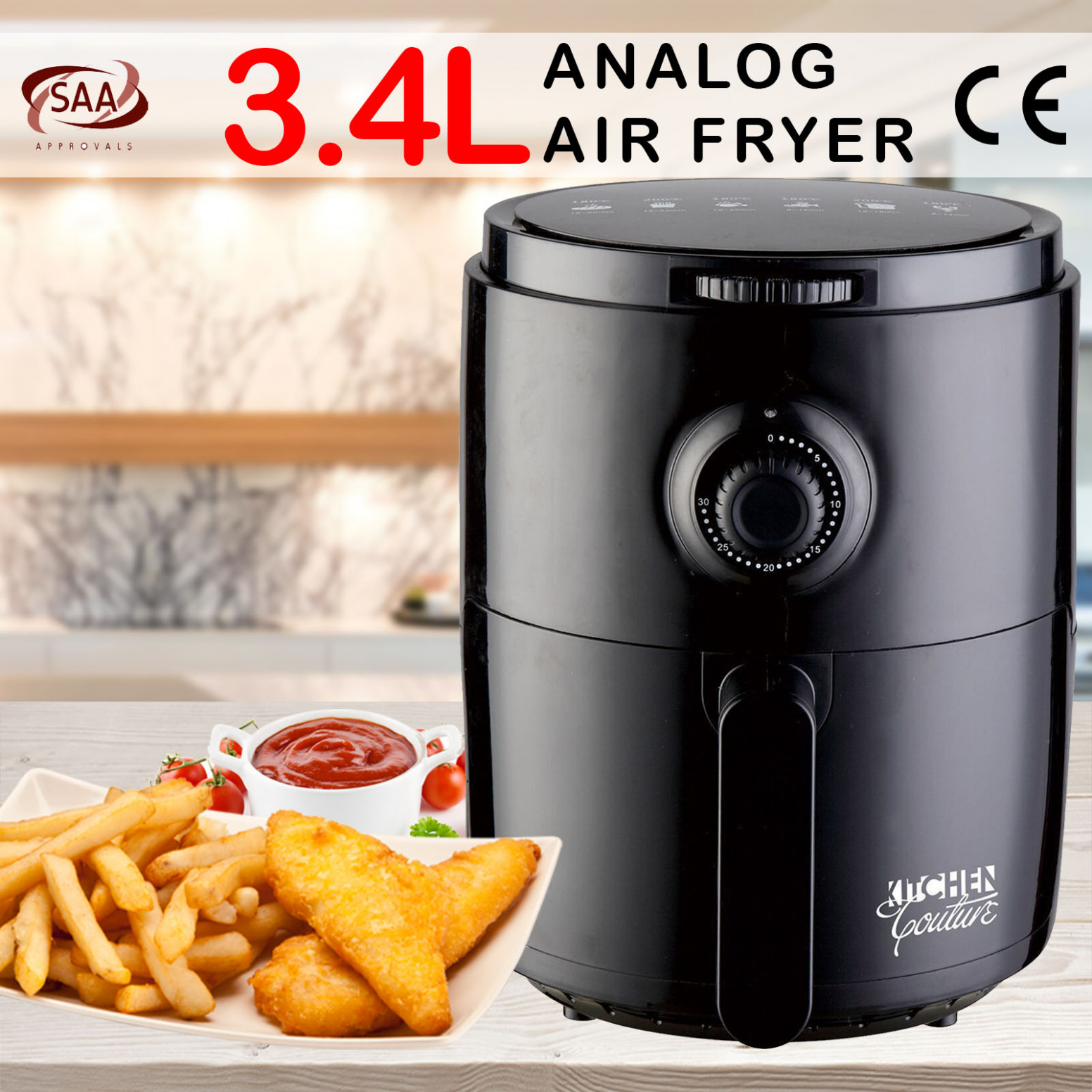 Details About Kitchen Couture Air Fryer Healthy Food No Oil Cooking Recipe  114