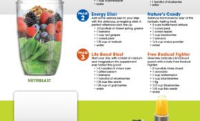Details About NUTRIBULLET Plus USER GUIDE & RECIPE BOOK ..