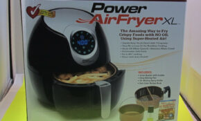 Details About Power AirFryer XL 10W Style Fry Pot Airfryer – Black – Power Air Fryer Xl Healthy Recipes