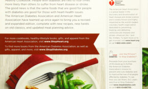 Diabetes And Heart Healthy Cookbook: American Diabetes ..