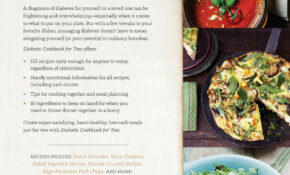 Diabetic Cookbook For Two: 12 Perfectly Portioned, Heart ..