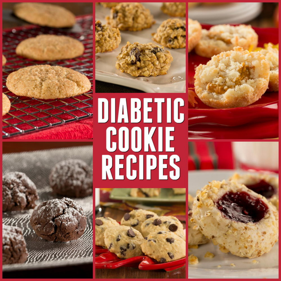 Diabetic Cookie Recipes: Top 16 Best Cookie Recipes You'll ..