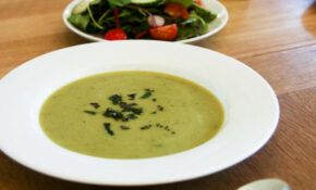 Dinner: Broad Bean And Mint Soup – Vegan Dinner Recipes Uk