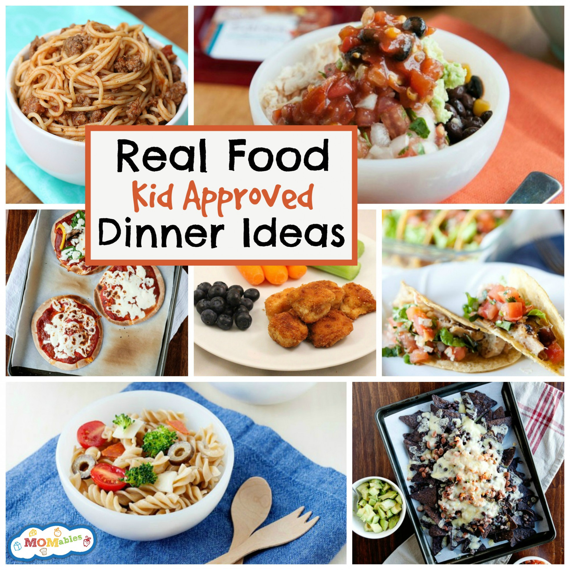 Dinner Ideas for Kids - the Best Real Food Recipes | MOMables - healthy kid recipes