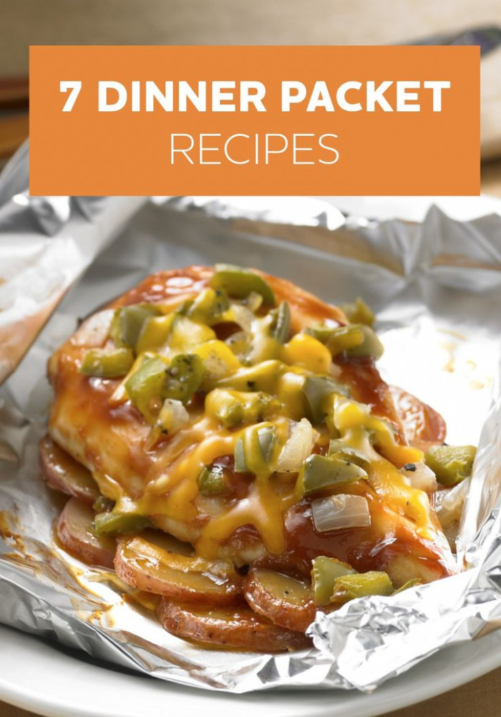 Dinner Packets are so easy to prepare and clean up! Try ..