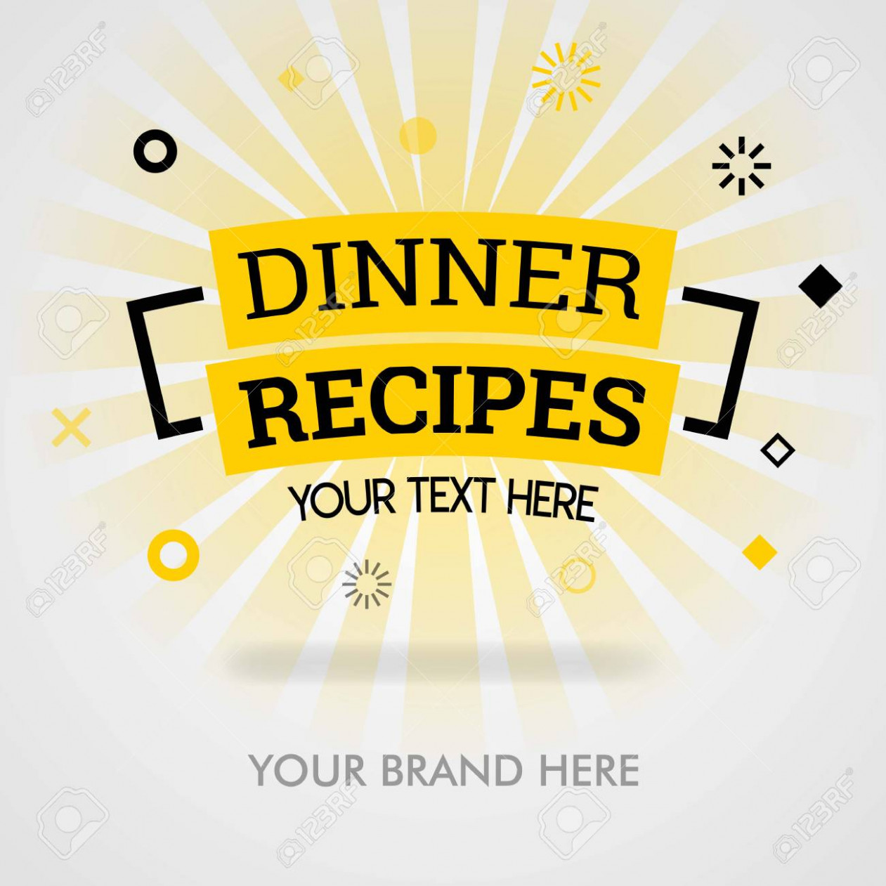 Dinner recipes book cover. dinner recipes cookbook. dinner place.