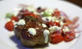Dinner Tonight: Lamb Loin Chops With Greek Salad And ..