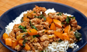 Dinner Tonight: Thai Style Minced Chicken With Basil And ..