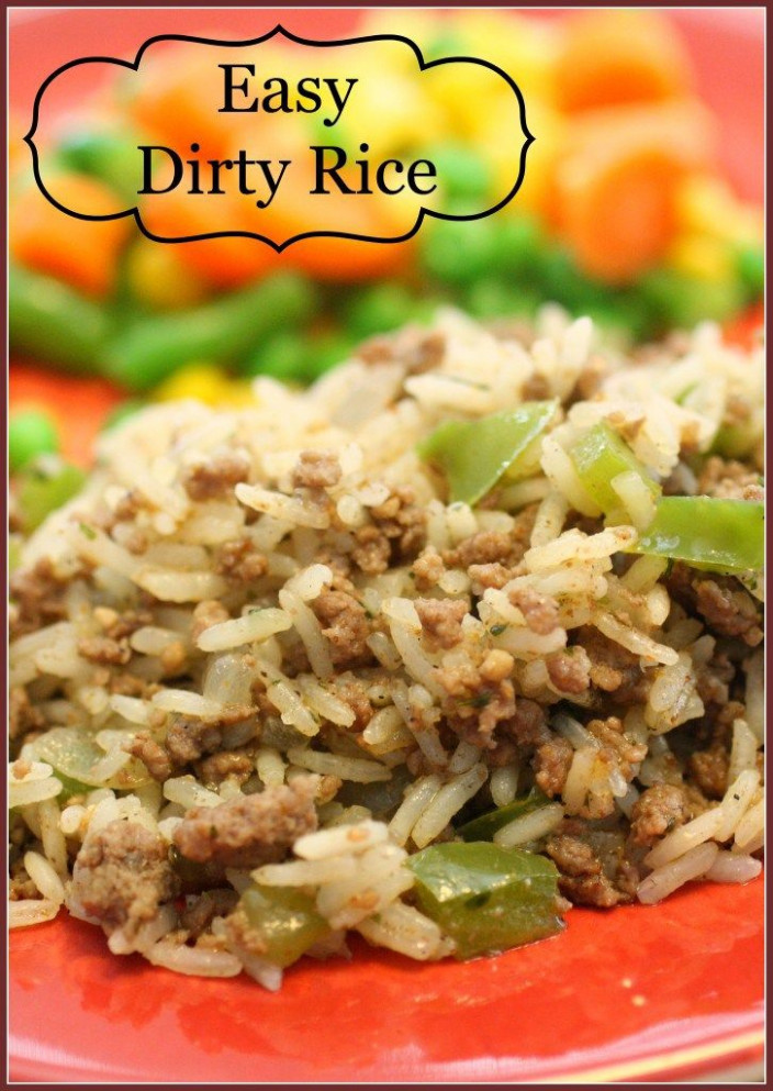 Dirty Rice I will be using 99% fat free ground turkey in ..
