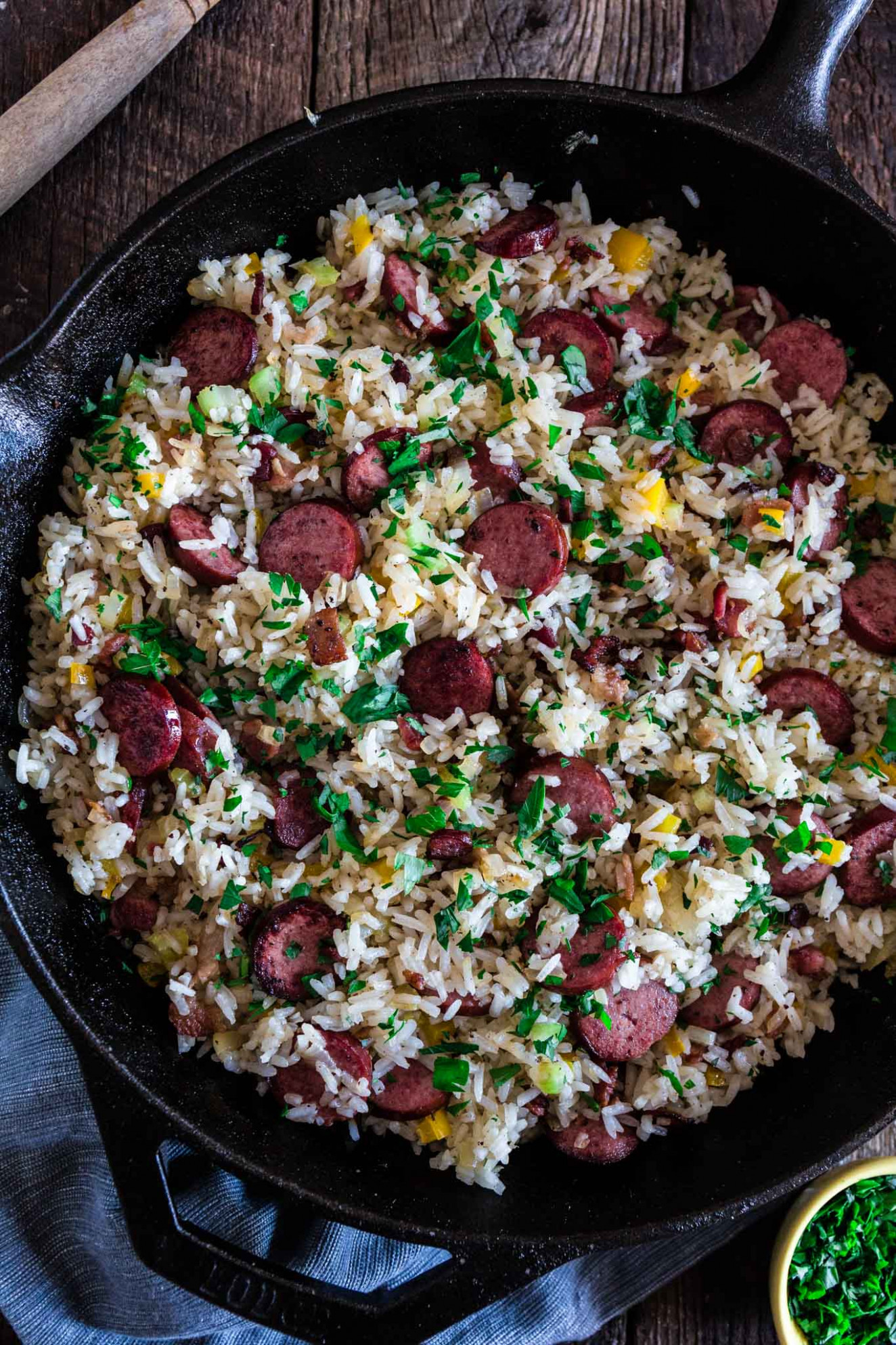 Dirty Rice With Smoked Sausage And Bacon - Olivia's Cuisine - Dinner Recipes Using Bacon