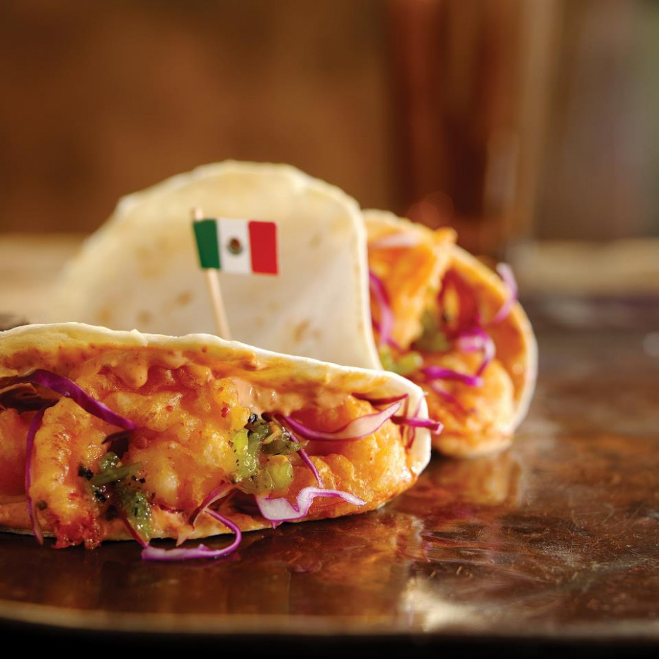 Disney Recipe: Shrimp Tacos - Mexico Pavilion At Epcot ..