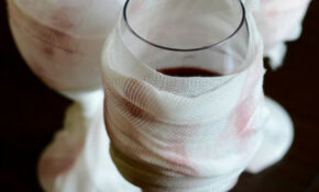 DIY Halloween Mummy Wine Glasses   Good And Simple – Quick Easy Recipes Dinner