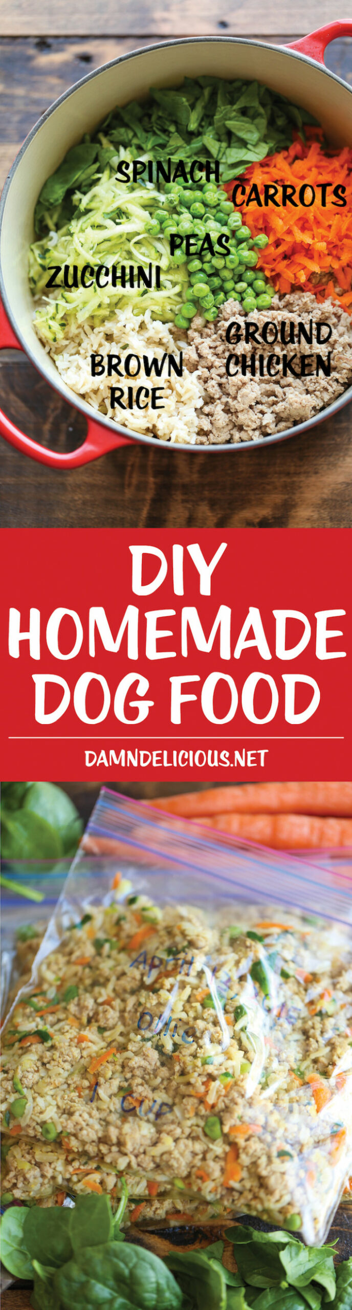 DIY Homemade Dog Food - recipes dog food