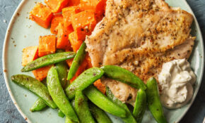 Do The Dukkah Chicken With Sweet Potatoes And Snap Peas – Chicken Recipes Hello Fresh