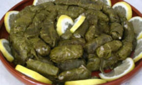 Dolmades Stuffed Grape Leaves Recipe | Just A Pinch Recipes – Recipe Vegetarian Grape Leaves