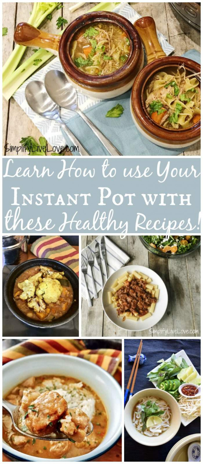 Don't Miss These Healthy Instant Pot Recipes + Giveaway ..