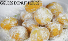 Donut Hole Recipe in Hindi | Veg Donut Hole | Eggless Donut ...