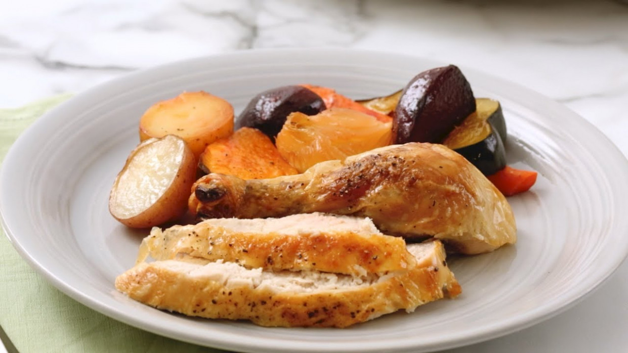 Double Roast Chicken - Martha Stewart - chicken recipes martha stewart