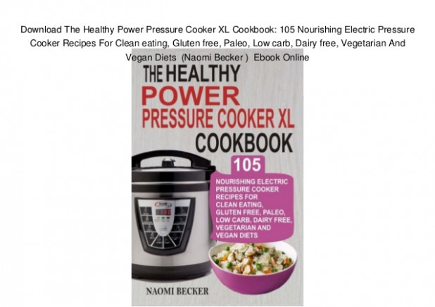 Download The Healthy Power Pressure Cooker XL Cookbook ..