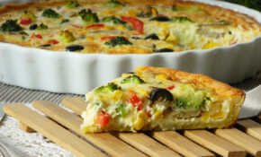Dr Ola's kitchen: Quiche Tutorial (Vegetarian recipe ...