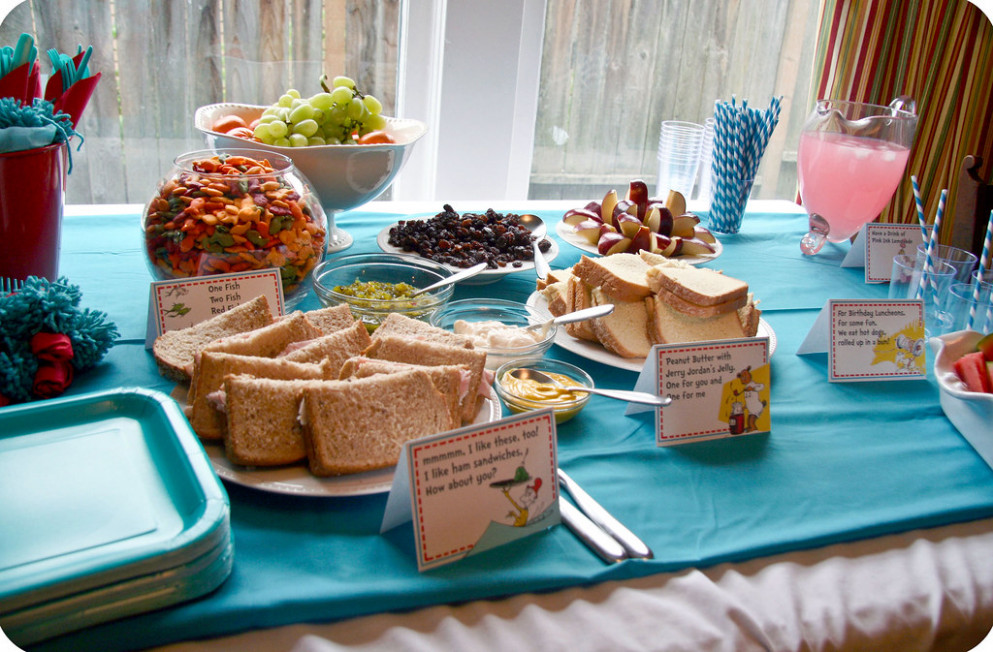 Dr Seuss Party Food - party food recipes