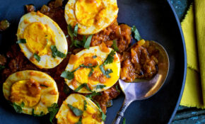 Dress Up Hard Boiled Eggs With Bold Flavors In This Indian Curry  Sauce.CreditCredit..