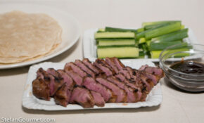 Duck Breast With Hoisin And Pancakes – Stefan's Gourmet Blog – Vegetarian Recipes Using Hoisin Sauce