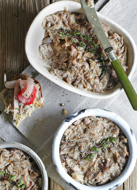 Duck rillettes recipe - olive magazine - healthy recipes ground chicken