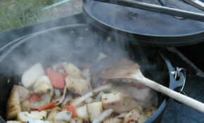 Dutch Oven Chicken And Potatoes | OutdoorFeeds – Dutch Oven Recipes Chicken Breast