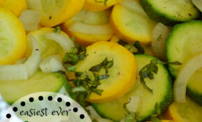 Easiest Ever Grilled Zucchini Packet – Vegetarian Recipes On The Grill